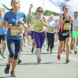 Tet Riga Marathon - Aija Laizāne (18028), Baiba Babule (20565)