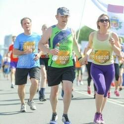 Tet Riga Marathon - Juris Dombrovskis (18027), Aija Laizāne (18028)