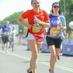 Tet Riga Marathon - Agnese Ševerdaka (21877), Ieva Krūmiņa (22422)