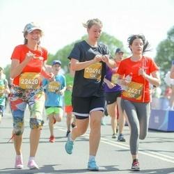 Tet Riga Marathon - Lāsma Bērziņa (20496), Antra Sīpola (22420), Aļona Mala (22421)