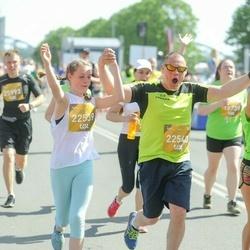 Tet Riga Marathon - Alīna Indriksone (22539), Intars Indriksons (22540)