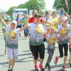 Tet Riga Marathon - Mārīte Kārkliņa (20579), Ieva Kārkliņa (20581), Ainārs Kārkliņš (20582), Katrīna Kārkliņa (20584)