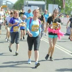 Tet Riga Marathon - Agnese Veldre (20853), Jūlija Bļinova (25736), Roberts Ziemanis (27830)