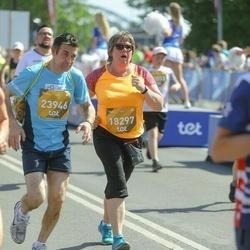 Tet Riga Marathon - Agita Morkāne (18297), Einārs Ilsters (23946)