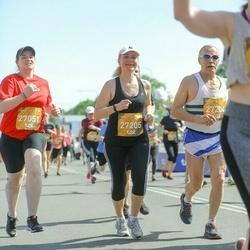 Tet Riga Marathon - Agrita Amanda Melngaile (27051), Janis Caurs (27204), Kristine Derica (27205)