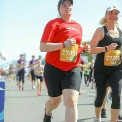 Tet Riga Marathon - Agrita Amanda Melngaile (27051), Kristine Derica (27205)