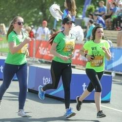 Tet Riga Marathon - Anete Lapa (23571), Diāna Štopīte (23575), Aivita Lasmane (25599)