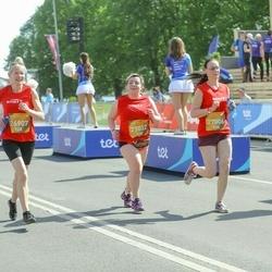 Tet Riga Marathon - Ina Kokoreviča (26907), Jūlija Lukina (27006), Aija Misiņa (27032)