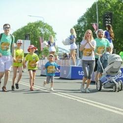 Tet Riga Marathon - Kaspars Virbulis (19878), Līva Virbule (19882), Marta Virbule (19884), Reinis Nedvigs (19889), Dace Skirmante (27846)
