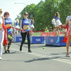 Tet Riga Marathon - Karina Točelovska (21355), Irina Fesenko (23955), Ilona Dzene (23956)