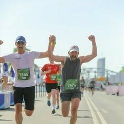 Tet Riga Marathon - Alexander Kelberg (7476), Vadims Reinfelds (7855)