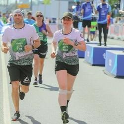 Tet Riga Marathon - Anna Gulbe (4879), Aivars Andersons (6375)