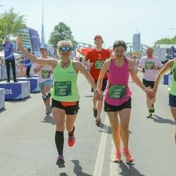 Tet Riga Marathon - Laura Priedīte (4557), Agnese Pildere (6599), Zane Andrejeva (6600)