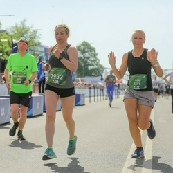 Tet Riga Marathon - Torben Rosenkilde Jensen (3808), Aija Kandele (5691), Elita Ozolina (7932)