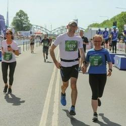 Tet Riga Marathon - Anna Sidorova (4973), Titta Lehtinen (6545), Jussi Sjöberg (8529)