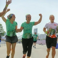 Tet Riga Marathon - Evita Zoltnere (4956), Arta Baltmane (5351)
