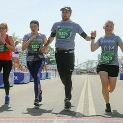 Tet Riga Marathon - Anastasiia Soloveva (4307), Eva Pāvulsone (8223), Laura Bodniece (8224), Ralfs Aigars Rozītis (8226)