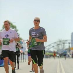 Tet Riga Marathon - Sebastian Dominitzki (4749), Alla Ditla-Mamikina (5344)