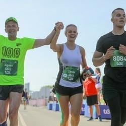 Tet Riga Marathon - Zanda Zariņa Rešetina (4067), Aigars Rublis (5642), Toms Peleģis (8084)