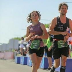 Tet Riga Marathon - Agne Mataityte (3240), Kristė Hincaitė (3260)
