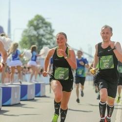 Tet Riga Marathon - Alise Putraima (3295), Andris Mežgailis (3296)