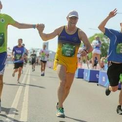 Tet Riga Marathon - Marcello Rosa (3065), Gerardo Brudaglia (3081), Uldis Riekstiņš (3159)