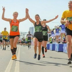 Tet Riga Marathon - Evelin Terro (3166), Triinu Haavapuu (4552)