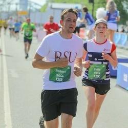 Tet Riga Marathon - Robert Schleier (5444), Evita Ragovska (7274)