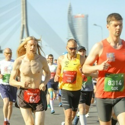 Tet Riga Marathon - Gintaras Drebulys (133), Nikolajs Garbuzs (816)