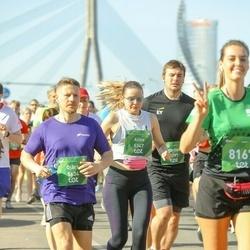 Tet Riga Marathon - Alīna Panavasa (5347), Ojārs Bulte (5634)