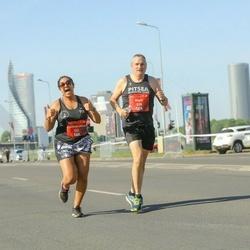 Tet Riga Marathon - Nigel Pointer (538), Faatemah-Zehra Piperdy (731)