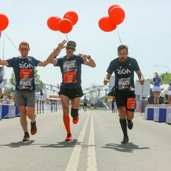 Tet Riga Marathon - Andis Geste (2150), Ainārs Kumpiņš (2153), Valdis Ņilovs (2154)