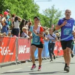 Tet Riga Marathon - Andis Geste (12894), Zane Levša (13189)
