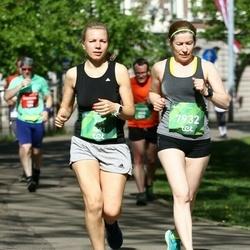 Tet Riga Marathon - Aija Kandele (5691), Elita Ozolina (7932)