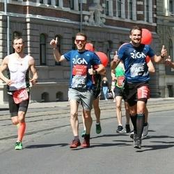 Tet Riga Marathon - Gatis Pūcītis (1806), Andis Geste (2150), Ainārs Kumpiņš (2153)