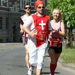 Tet Riga Marathon - Valdas Šmaižys (399), Anna Maslova (732)