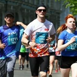 Tet Riga Marathon - Mikus Apinis (12080), Alīna Rodionova (15279), Jānis Ivanovs (15791)