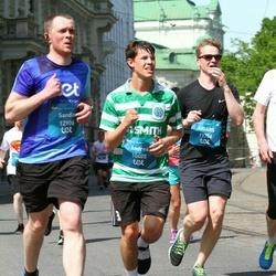 Tet Riga Marathon - Andrea Riemeier (10405), Aigars Zelmenis (11756), Sandis Zvejnieks (12906)