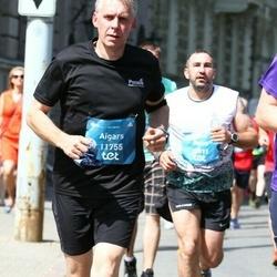 Tet Riga Marathon - Aigars Aukšmuksts (11755), Raivo Pienis (12011)