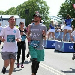 Tet Riga Marathon - Gustavs Šenne (12523), Gatis Briģis (16013)