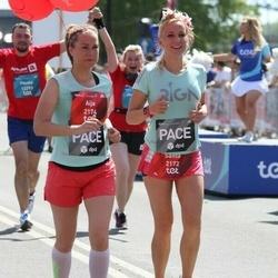 Tet Riga Marathon - Santa Birģele (2172), Aija Freiberga (2174)