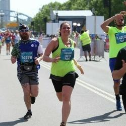Tet Riga Marathon - Agnese Kārkliņa (13411), Tatjana Glebova (14298)