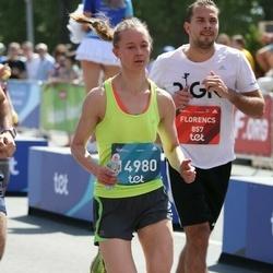 Tet Riga Marathon - Florencs Roberts (857), Justin Fliesser (14980)