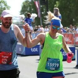 Tet Riga Marathon - Signis Vāvere (2176), Anda Sproģe-Vāvere (15979)