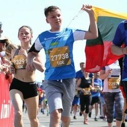 Tet Riga Marathon - Alevtina Gutman (23291), Jakub Valiuškevič (27738)