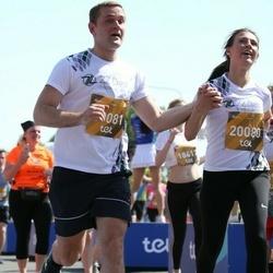 Tet Riga Marathon - Amanda Zemīte (20080), Andris Savickis (20081)
