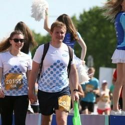 Tet Riga Marathon - Anastasija Alkšere (20155), Romans Daņilovs (20169)