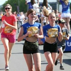 Tet Riga Marathon - Agrita Grinberga (26126), Diāna Krasiļņikova (26135)