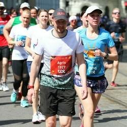 Tet Riga Marathon - Agris Jansons (1927), Anna Krek (13293)