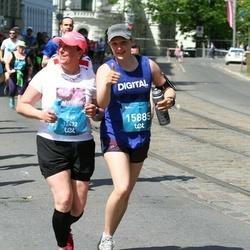 Tet Riga Marathon - Aija Laškope (12422), Liene Rimša (15885)